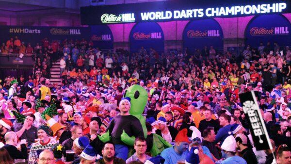 Fans return for final five Premier League Darts nights