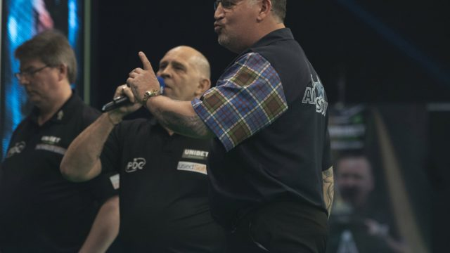 Gary Anderson I'm miles off