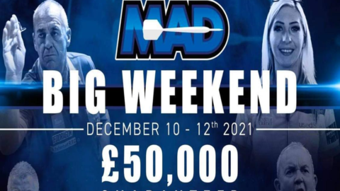 MAD ANNOUNCES £50,000 BIG WEEKEND