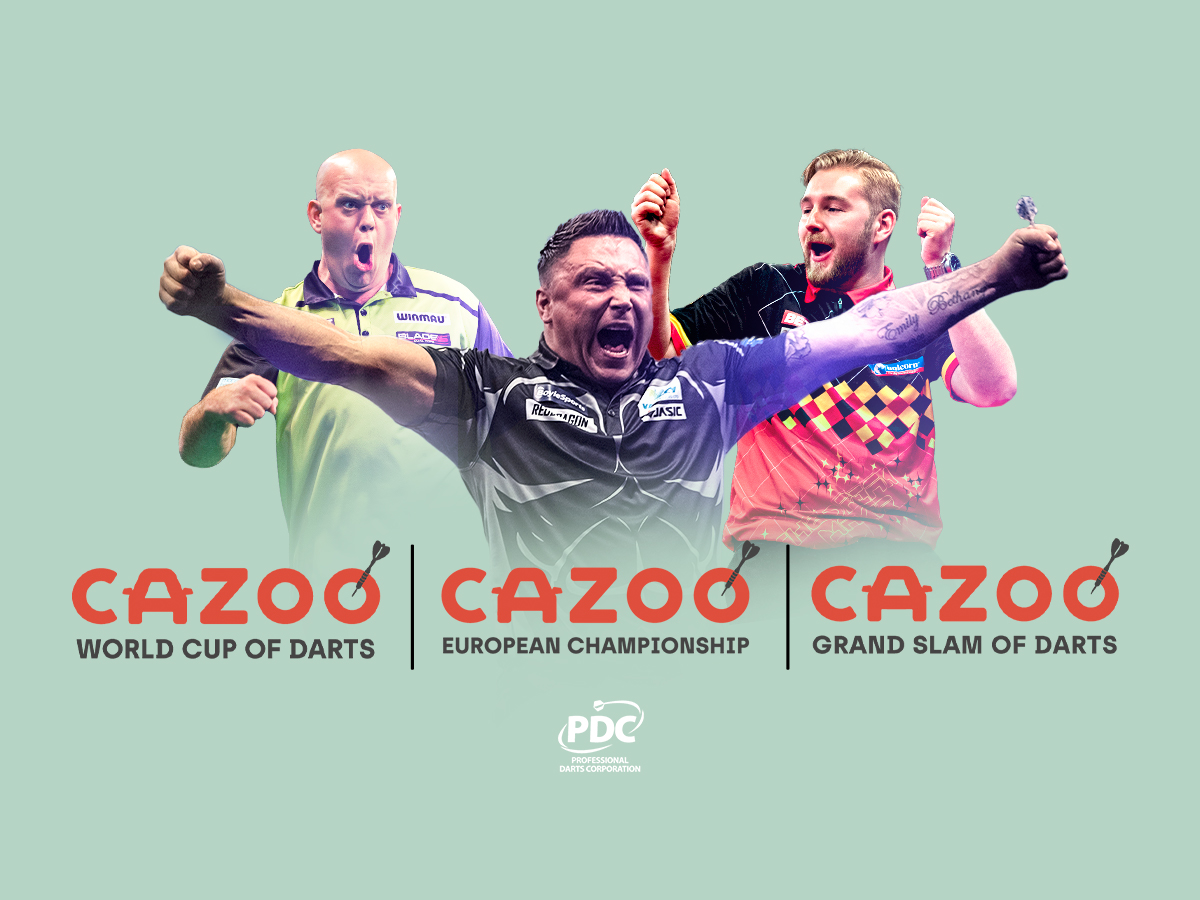 The PDC announced a multi-tournament sponsorship deal with car giant Cazoo.