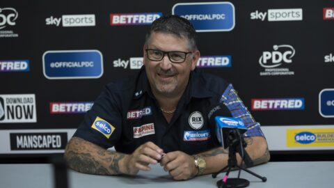 Wright confirms Anderson to miss World Cup of Darts