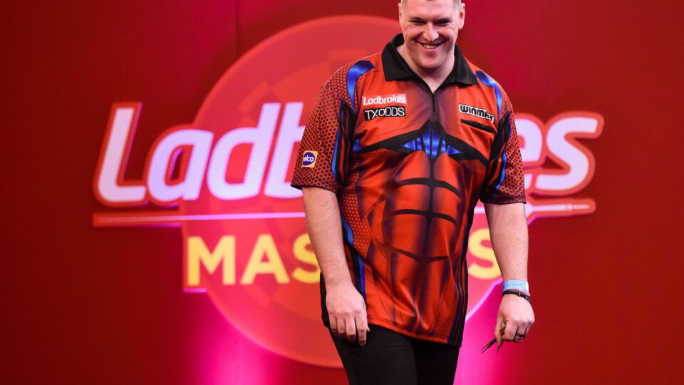 Daryl Gurney, on his slide down the rankings