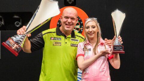Michael van Gerwen ends his drought for a title