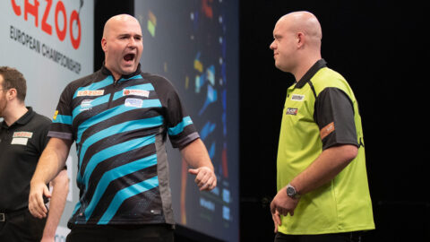 Cross wins first floor title in three years at PDC Super Series