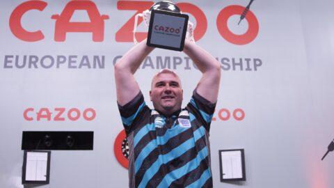 Rob Cross wins his second European Championship