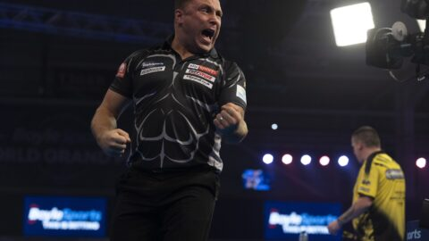 """Gerwyn Price blasts the crowd at the Morningside Arena """"absolutely pathetic"""""""