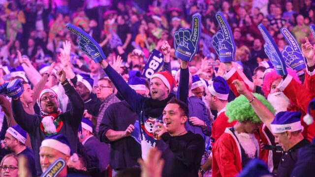 Book your place at Ally Pally for the PDC World Darts Championships21/22